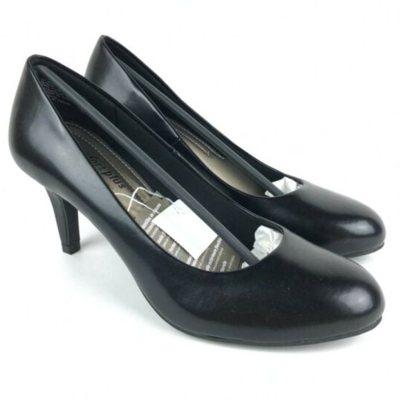 Comfort Plus Karmen Pumps Black 9 Wide